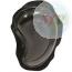 C60002705 COPPIA SAPONETTE ROK DROP NERA OXFORD