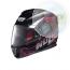 N86035 CASCO HELMET INTEGRALE BLOOM BIANCO-NERO PER MOTO SCOOTER E MAXI SCOOTER BRAND NOLAN
