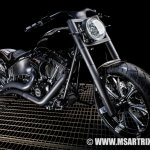 Massimo Gullone MS Artrix un mito nel CUSTOM Harley-Davidson