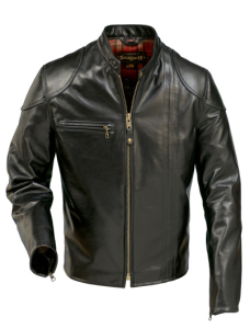 GIACCA UOMO RETRO CAFE RACER LEATHER SCHOTT NYC