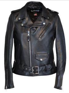 Giacca in pelle donna moto Schott American Leader
