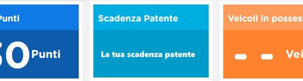 Saldo punti patente dal portale automobilista by MotoPier