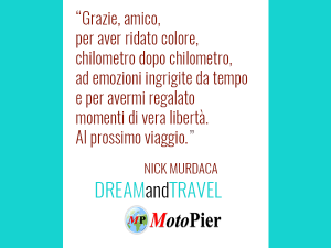 NICK MURDACA DA MOTOPIER DREAM AND TRAVEL