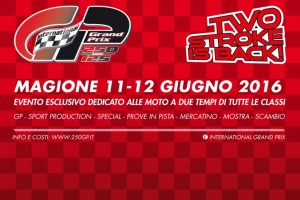TWO STROCK IN BACK MAGIONE AUTODROMO 250GP