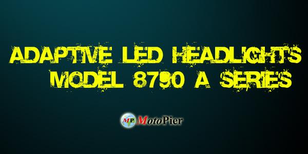 ADAPTIVE LED HEADLIGHT MODEL 8790 A SERIES JW SPEAKER MOTOPIER