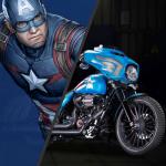 Marvel e Harley Davidson 27 modelli di moto Custom