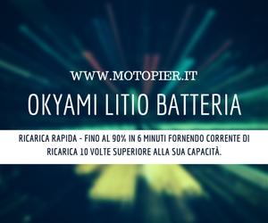 Batteria Litio OKYAMI LIT12B = YT12B-BS YT12BBS