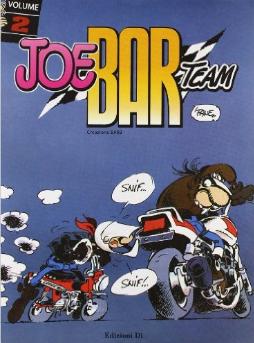 Joe Bar Team Book Cover