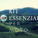 Kit di accessori essenziale per moto