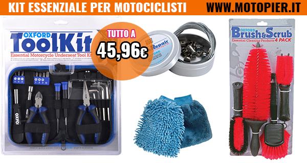 kit-essenziale-per-motociclisti-motopier-riparazione-cavi-spugne-pulizia-moto-utensili-riparazione