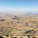Viaggio in moto nel deserto