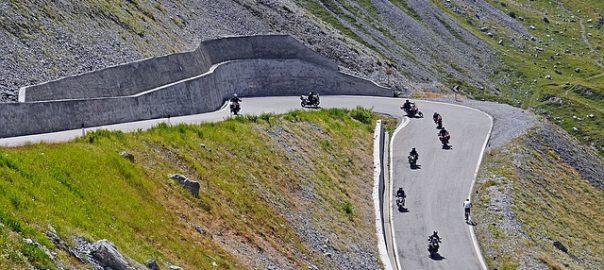 Passo Dello Stelvio itinerario Moto