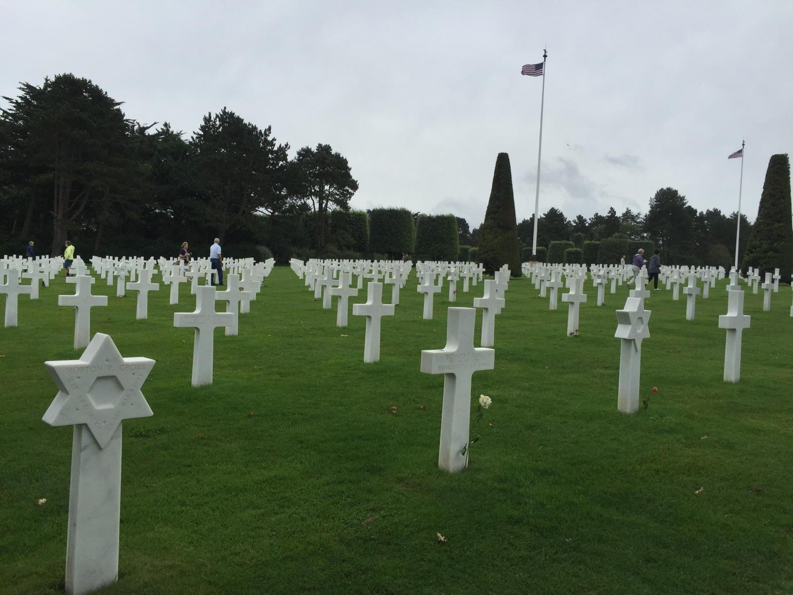 Cimitero Militare Amaricano, Colleville sur Mer-Normandia