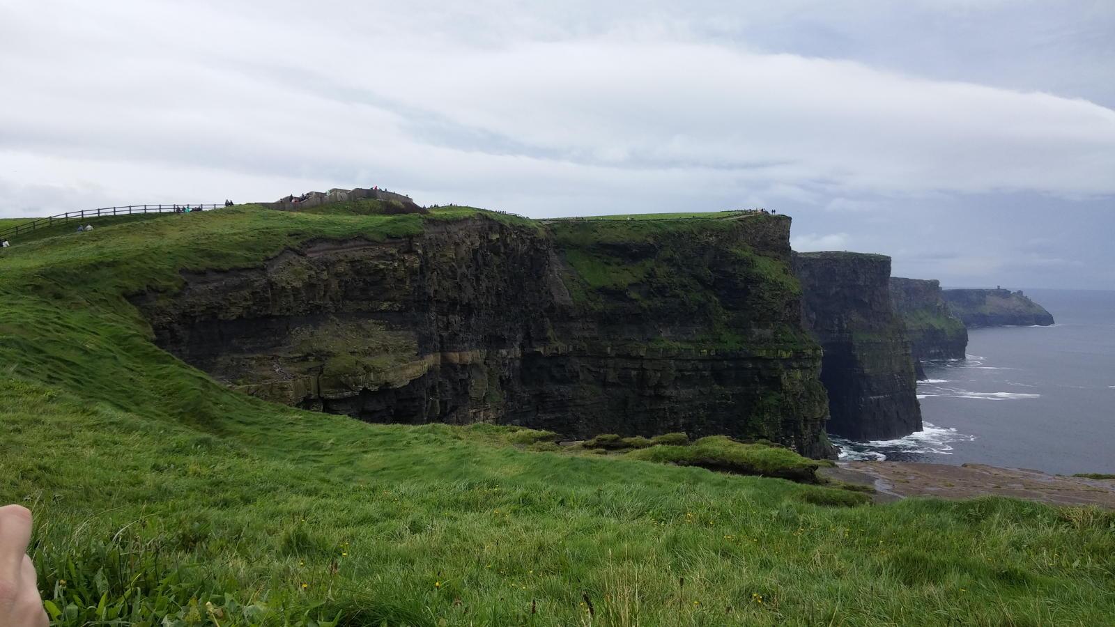 Viaggio in moto in IRLANDA , Cliff of Moher, Contea di Clare