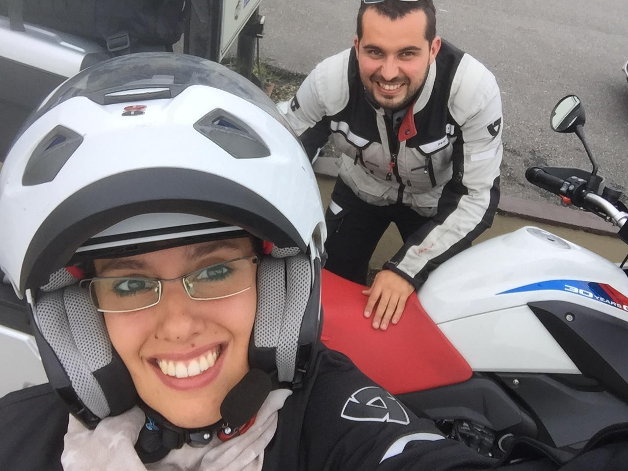 Viaggio in moto in IRLANDA Sbarcati in Irlanda, Porto di Rosslare