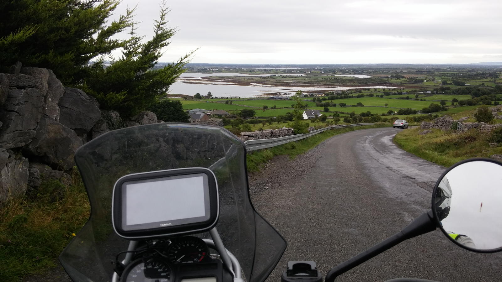 Viaggio in moto in IRLANDA , Wild Atlantic Way - Villaggio di Doolin