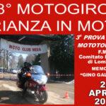 "8° Motogiro ""Brianza in moto"" (Memorial ""Gino Galimberti"") del Moto Club Meda"